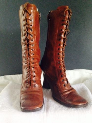 High (3 in. and Up) Leather PRADA Women's Boots | eBay