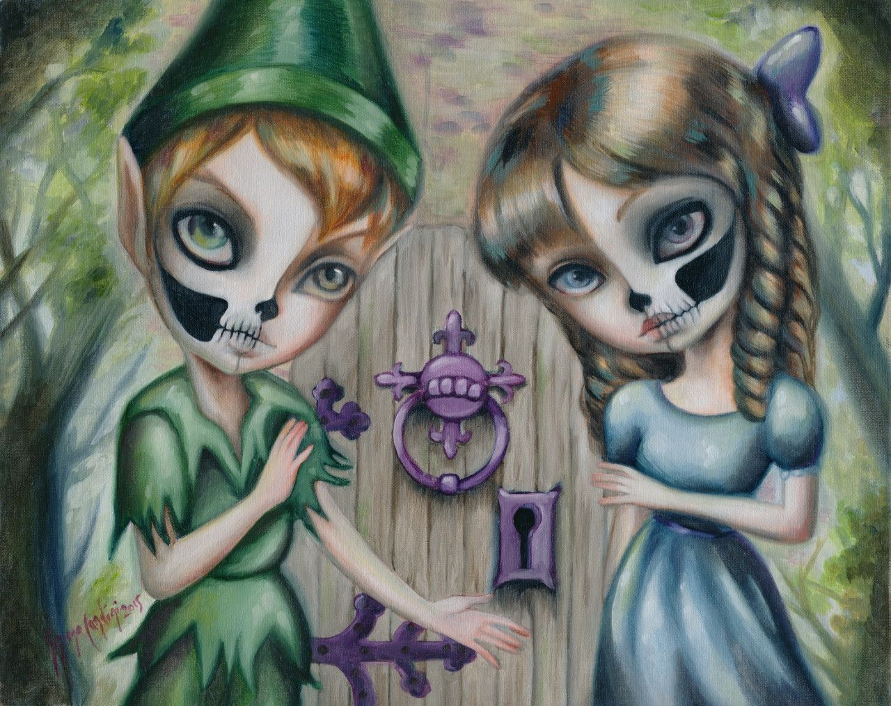 Peter wendy and the door to the undead forest galleries