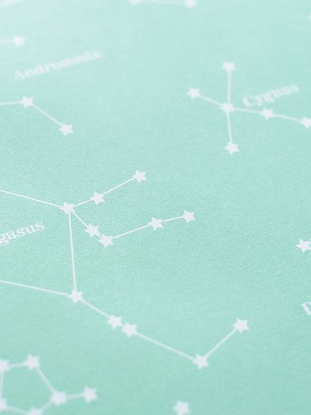 Constellations Gift Wrap