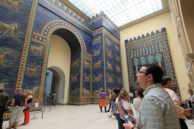 Ishtar Gate Pergamon Museum Berlin Germany Deutschland Ich Liebe Deutschland Berlin