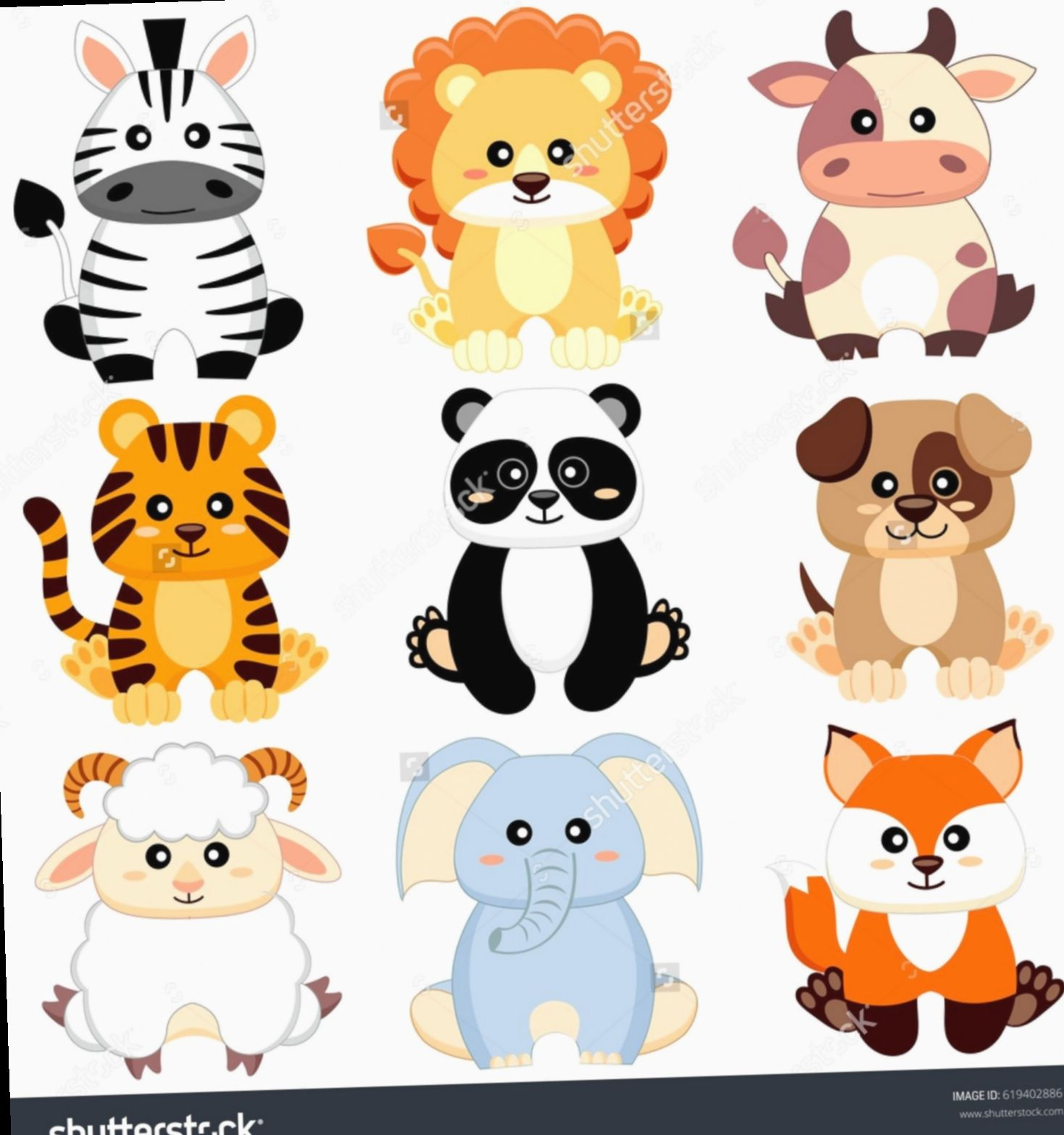 Cute Animals Cartoon Baby Cute Amizades Mundorosa Ilhadogovernador Cartoon Baby Animals Baby Animals Baby Cartoon