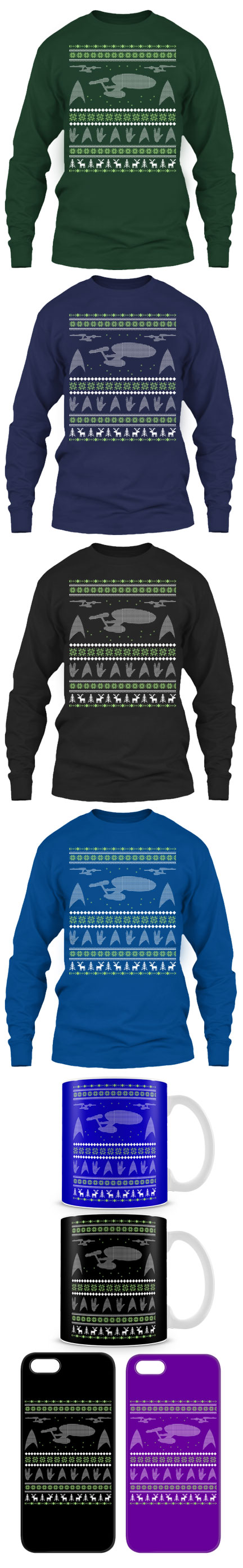 Star Trek Lover Ugly Christmas Sweater Click The Image To Buy It