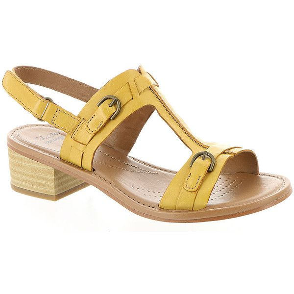Yellow dress shoes sandals