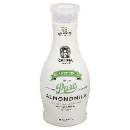 Califia Farms Unsweetened Almond Milk, 48 Fl  Oz  | Products