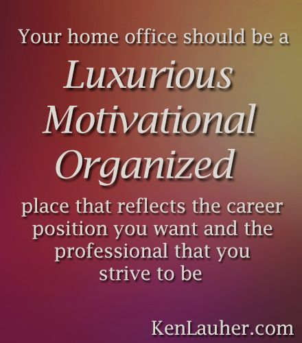 Feng Shui Tip: Your Home Office Should Be A Luxurious