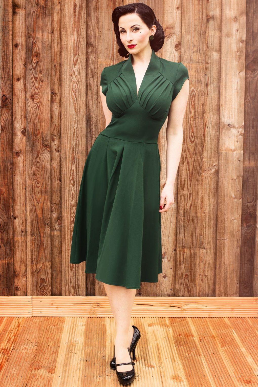 exclusive s Odette Green swing dress If I wasnut u