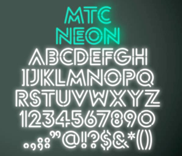 Pin by Graeme Nelson on Neon | Typography design, Typography