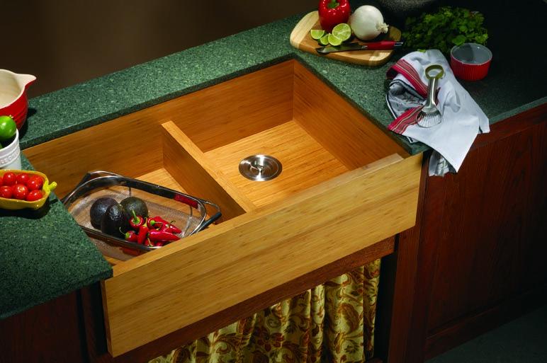 Bamboo kitchen sink rv build pinterest sinks island kitchen bamboo kitchen sink workwithnaturefo