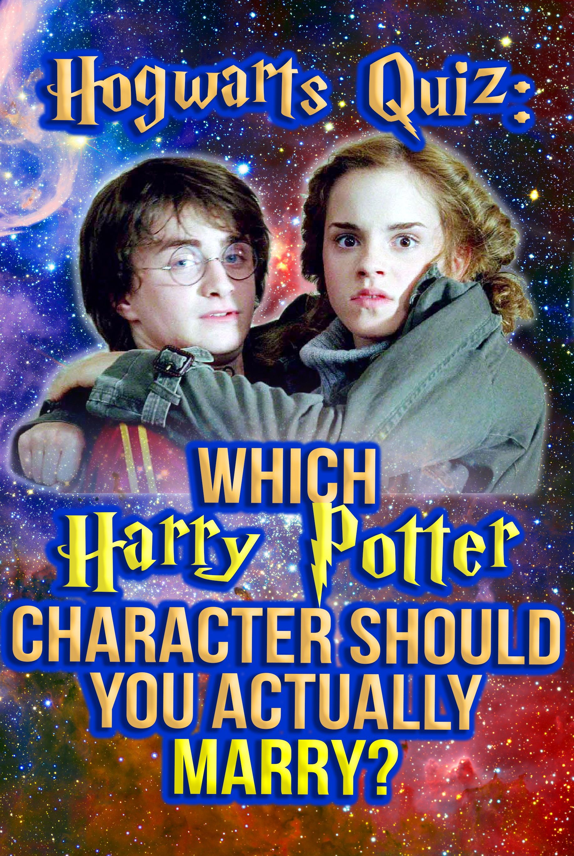 Hogwarts Quiz Which Harry Potter Character Should You Actually Marry In