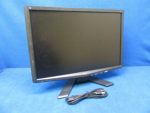 """Acer X223W 22"""" 5ms 300cd/m2 2500:1 Widescreen LCD Monitor Tested"""
