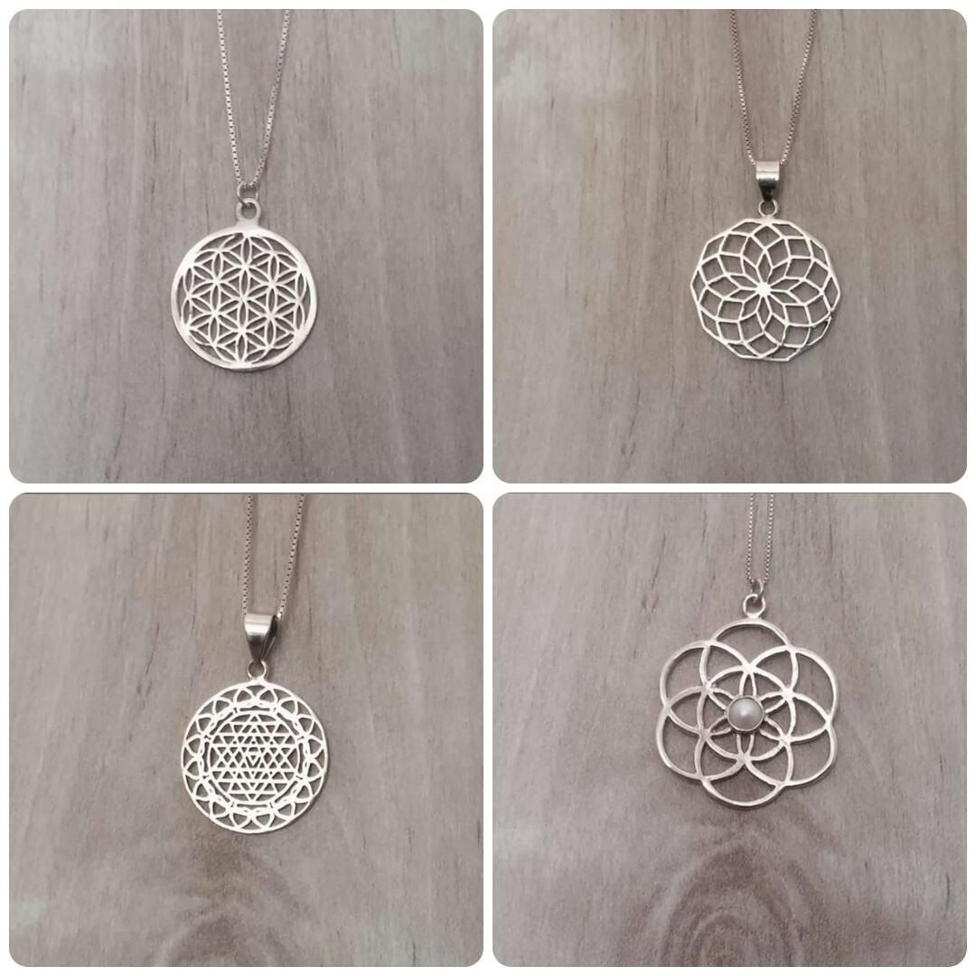 Flower of life pendant flower of life necklace star of life flower of life pendant flower of life necklace star of life necklace symbolic aloadofball Image collections