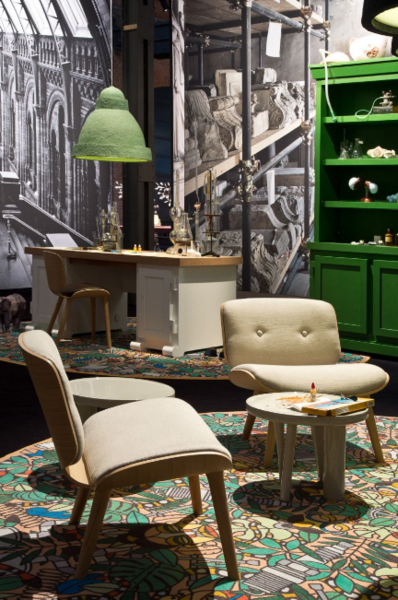 l'afrique carpet by studio job for moooi carpets | studio and, Attraktive mobel