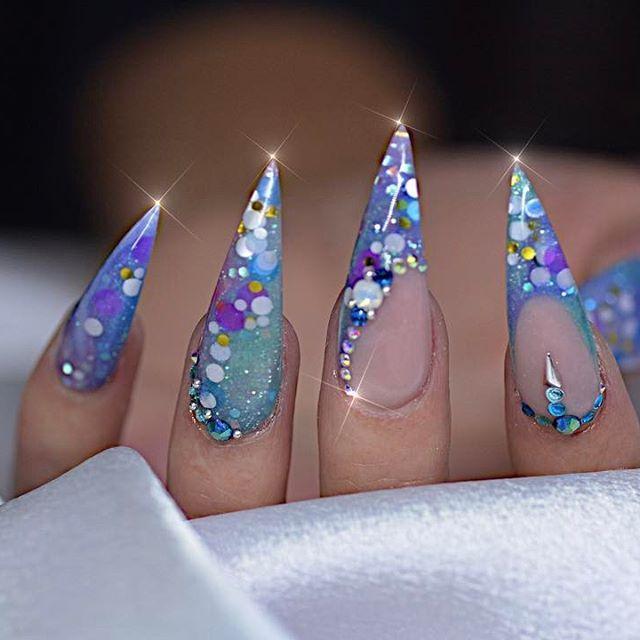 Pin de Bri Majors en Nails   Pinterest   Uñas en 3d, Arte uñas y ...