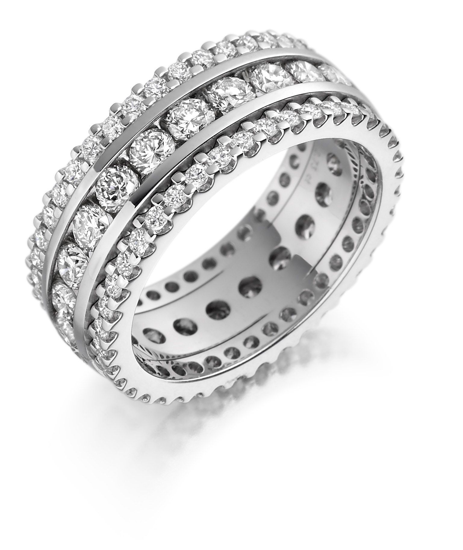 allegria bands eternity beers de ring platinum band full diamond