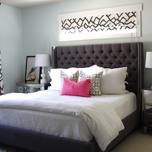 Danielle Oakey Interiors Bedrooms Light Blue Walls Pale Blue