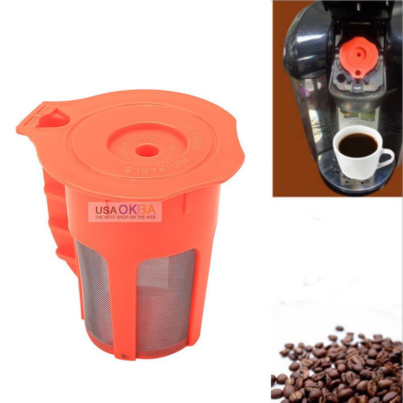 for keurig 20 kcarafe refillable reusable coffee cup filter replacement part
