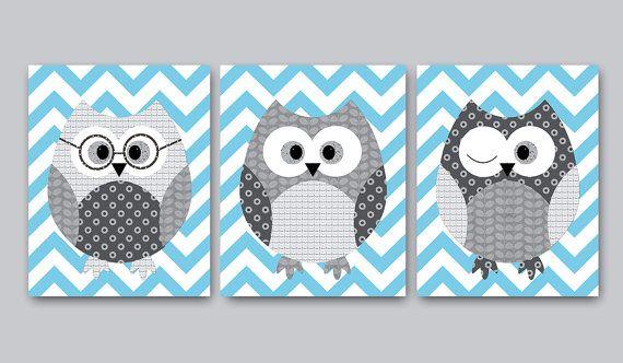 Owl Decor Owl Nursery Baby Nursery Decor   Cute Craft Idea!