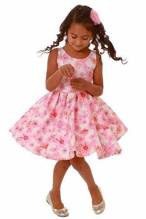 6a1acae7d26d Kate Mack Dottie Daisy Pink Floral Scuba Sun Dress  Preorder ...