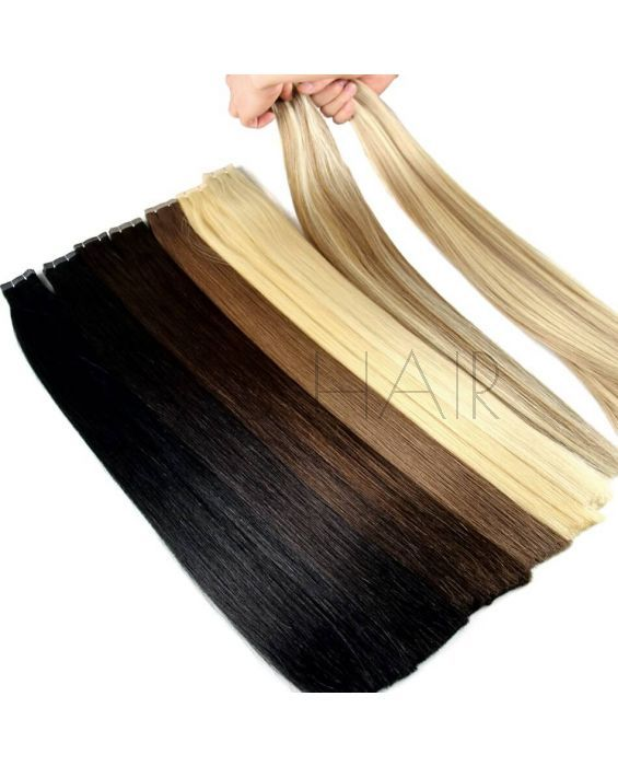 Best Tape In Skin Weft Hair Extensions Double Drawn Product Show