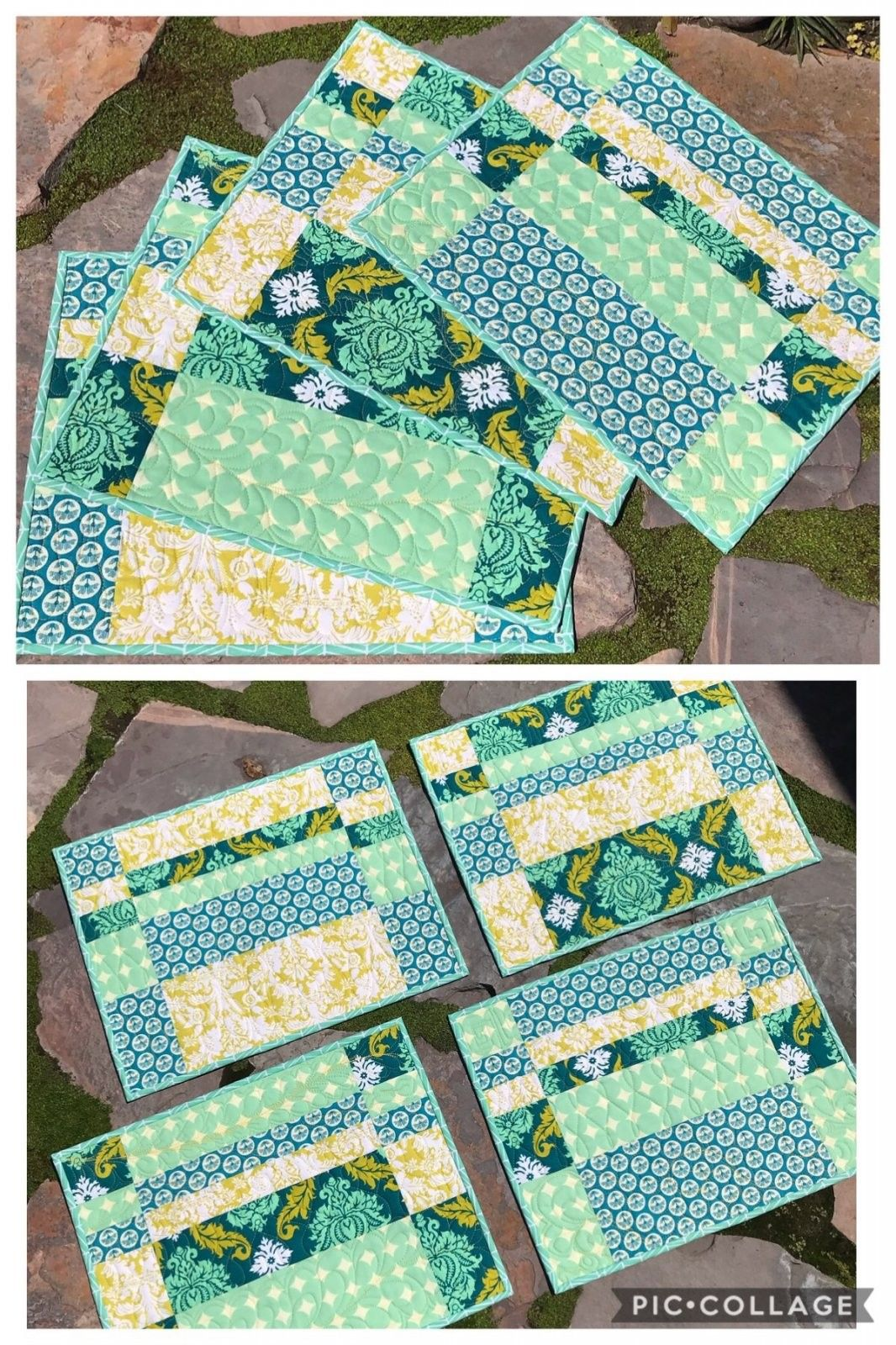 Craftsy Com Express Your Creativity Quilted Placemat Patterns Placemats Patterns Place Mats Quilted