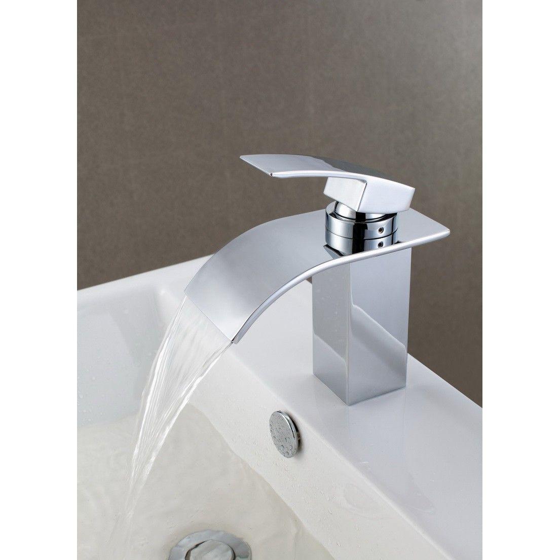 Zarter Wasserfall Armaturen Für Bad Waschbecken Mit