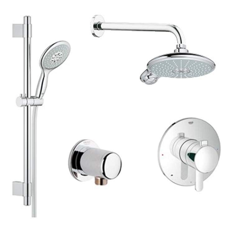 View The Grohe Gr Pns 06 Soul Pressure Balance Shower System With