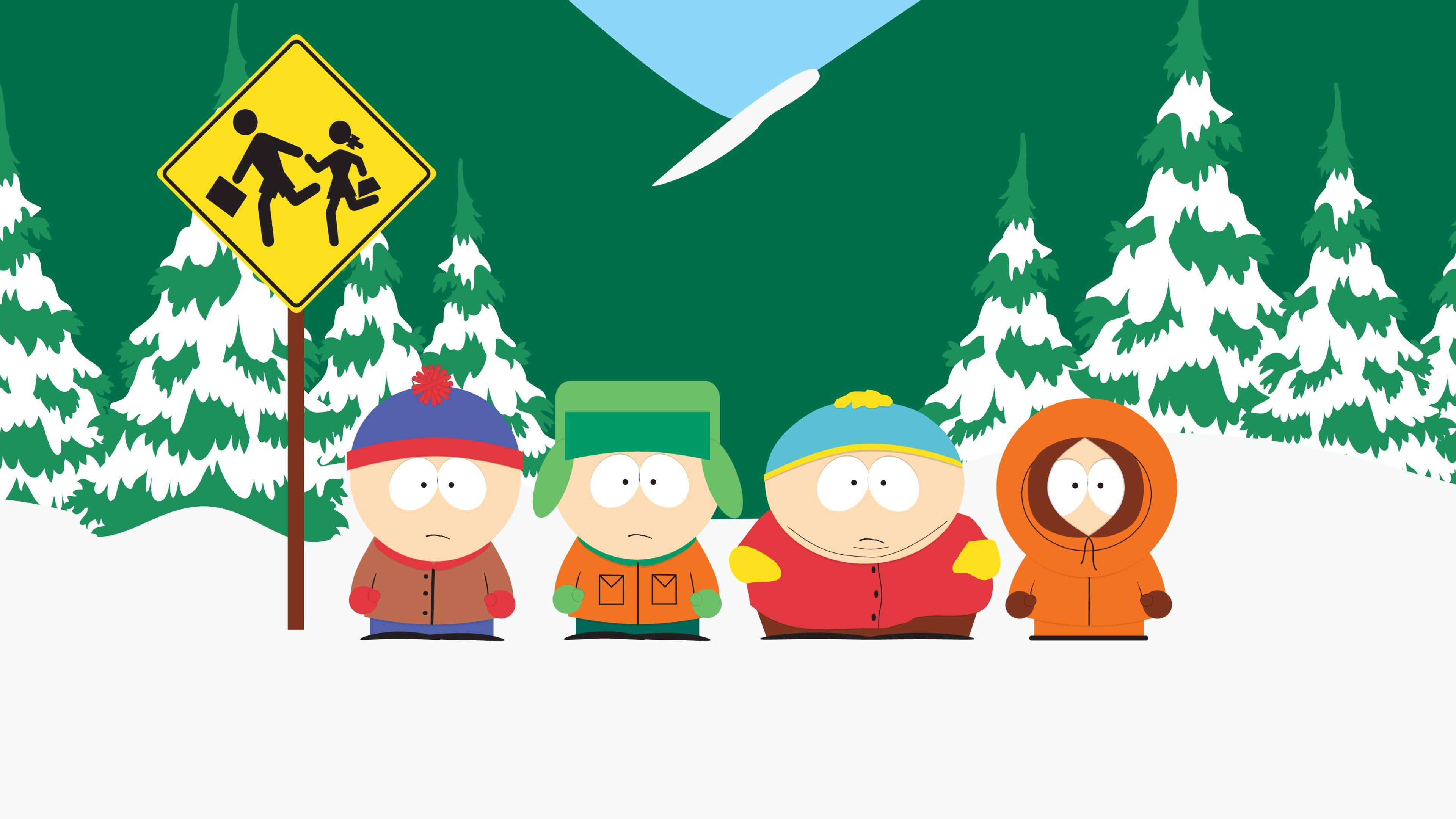 4k South Park Hd Wallpaper 3840x2160 South Park Pinterest