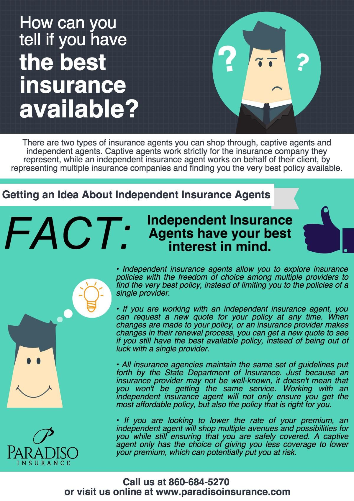 How Can You Tell If You Have The Best Insurance Available Best