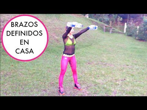 RETO BIKINI BOOTCAMP   Semana 1B   Brazo/Espalda Definidos   Naty Arcila   - YouTube