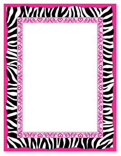 zebra print border clip art buscar con google zebra print rh pinterest co uk zebra print border clip art Pink Zebra Border Clip Art