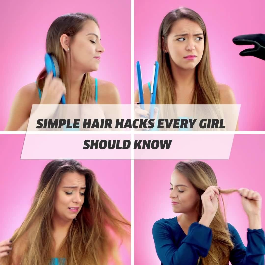 Simple Hair Hacks Every Girl Should Know