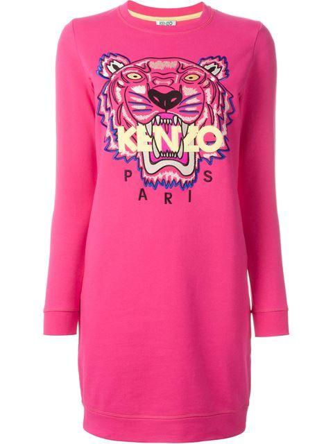 fced98da51 KENZO 'Tiger' Sweatshirt Dress. #kenzo #cloth #dress   Kenzo ...