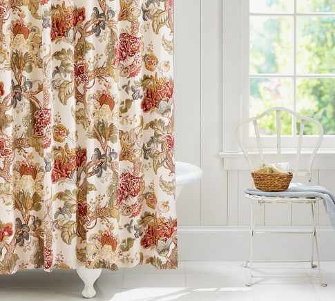 Graciela Palampore Shower Curtain Pottery Barn Home Pinterest Pottery Barn And Modern