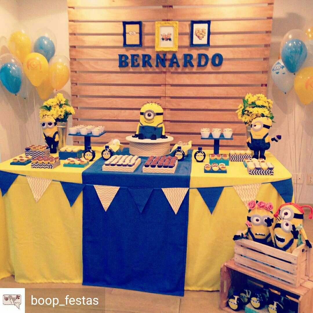 Minion Birthday Party 2nd Ideas Decorations First