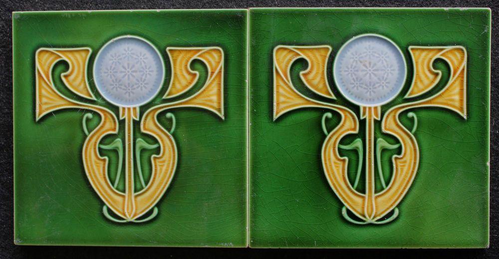 Art Deco Tegels : Jugendstil fliesen art nouveau tile c tegels carreau
