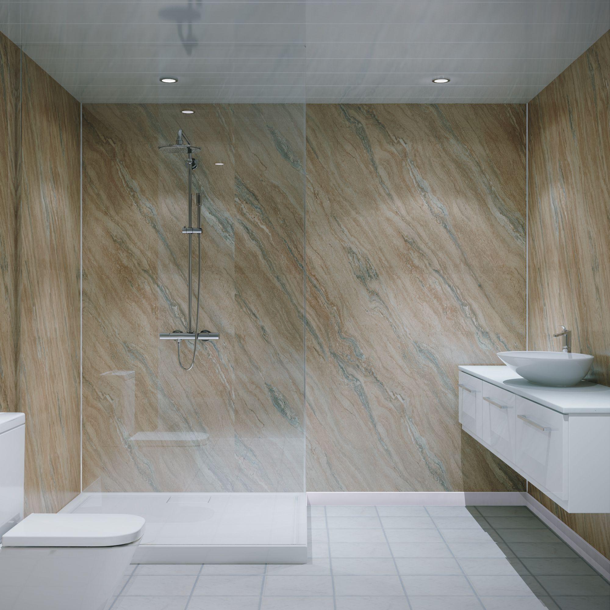 Bathroom Wall Panels Visualiser Sandstone Bathroomdesignvisualiser Modern Bathroom Design Grey Bathroom Wall Panels Elegant Bathroom