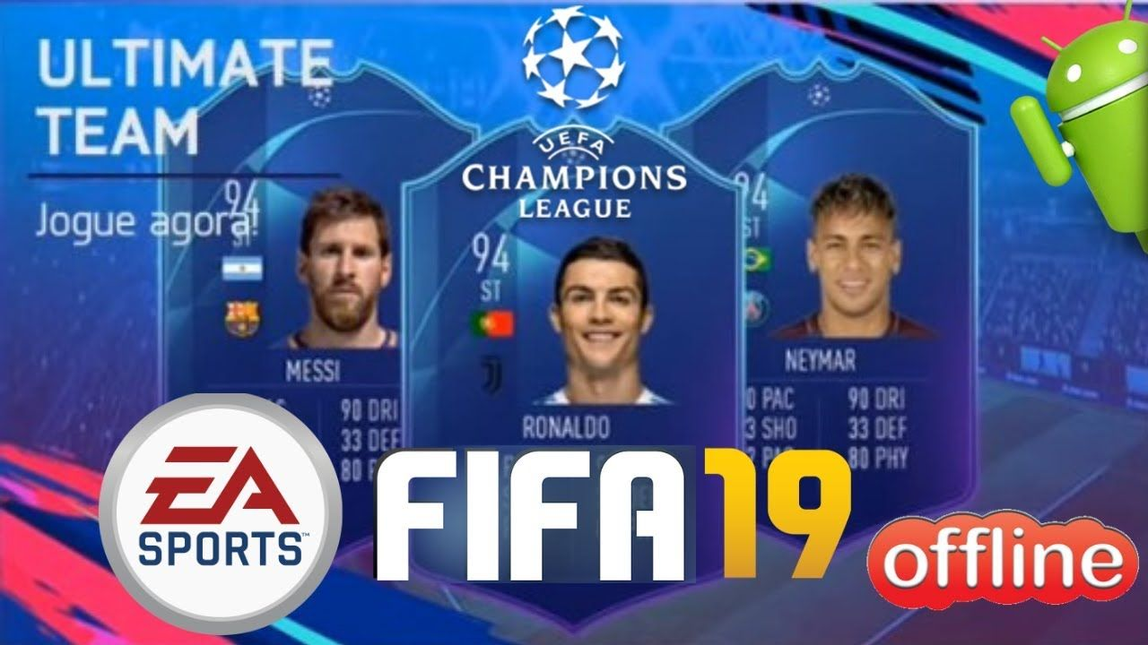 FIFA 19 UCL Offline Mod Android Download TECHNOGAMERs