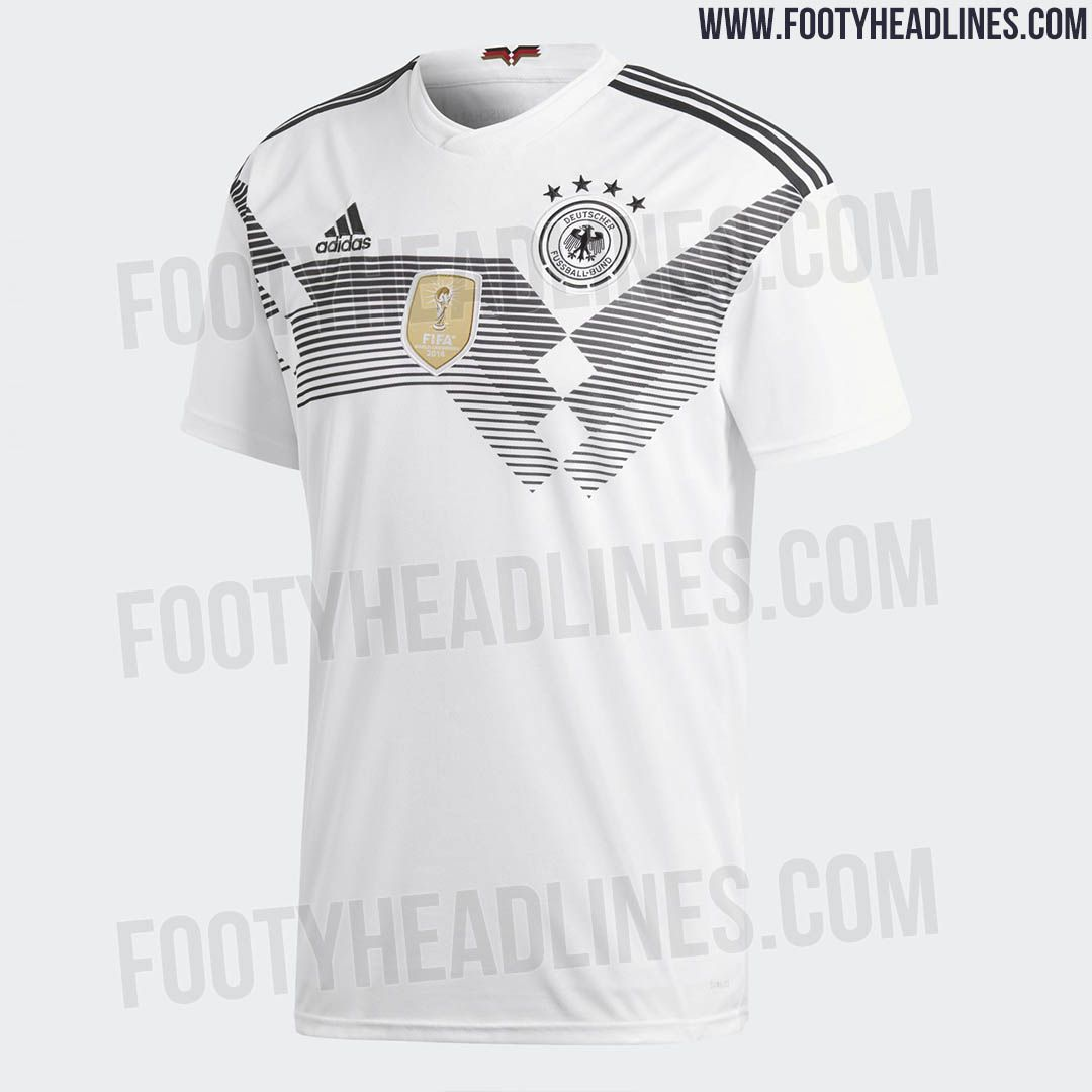 The Germany 2018 World Cup Kit Brings Back One Of The Country S Most Iconic Jersey Designs Of All Time World Cup Kits World Cup Jersey Design