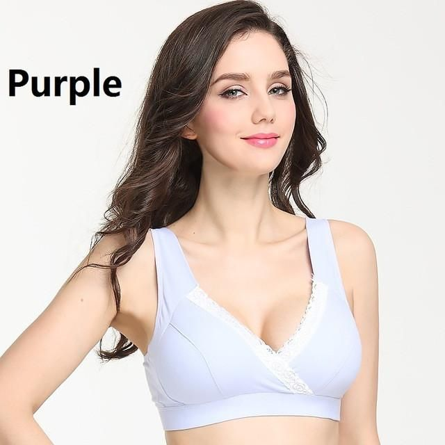e168b9d91 Auri Muffy 2016 Maternity Underwear cross Nursing Bra lace Breast Feeding  Bra Pregnant women underwear maternity bra