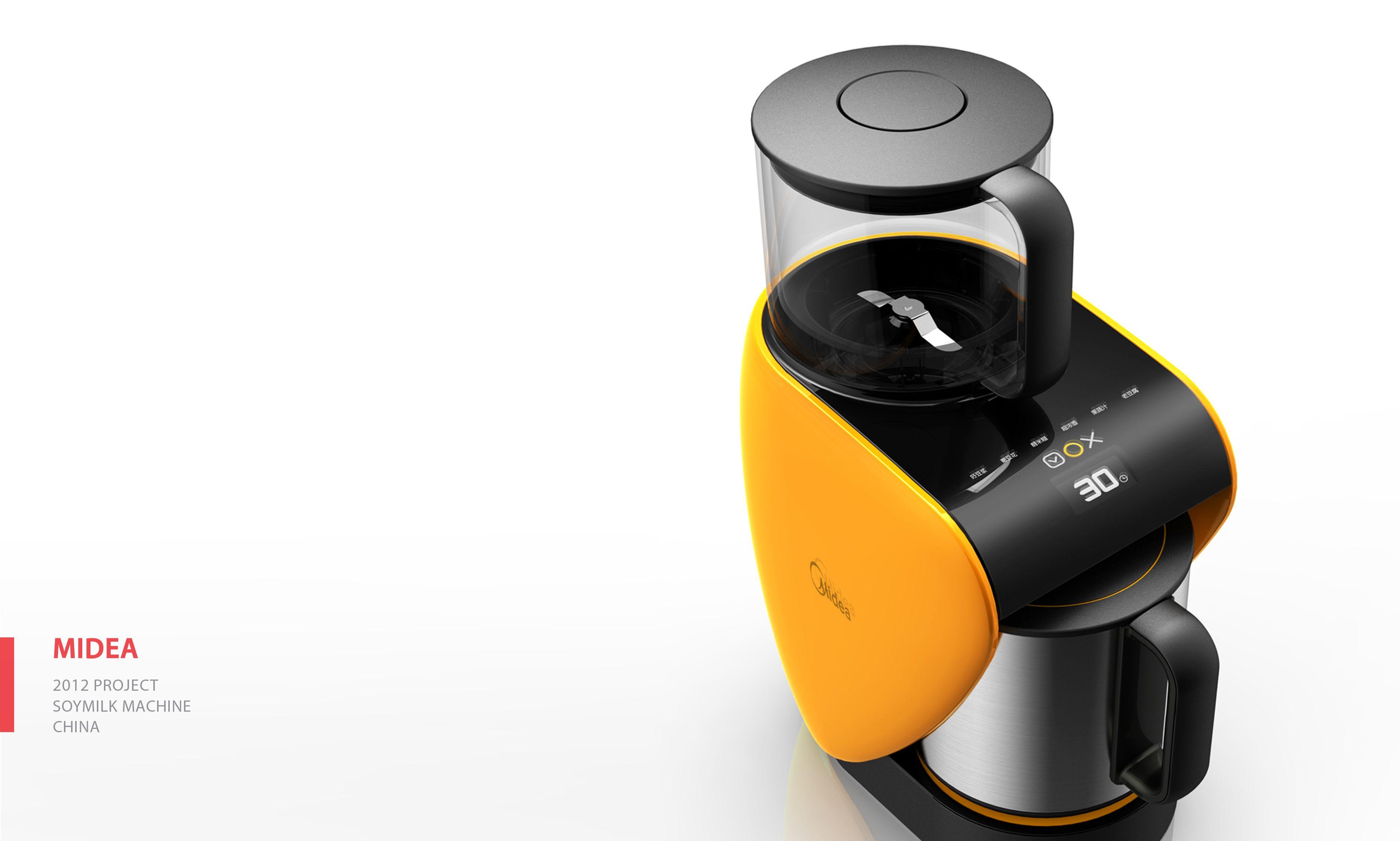 Midea soymilk machine _design by moto design machine