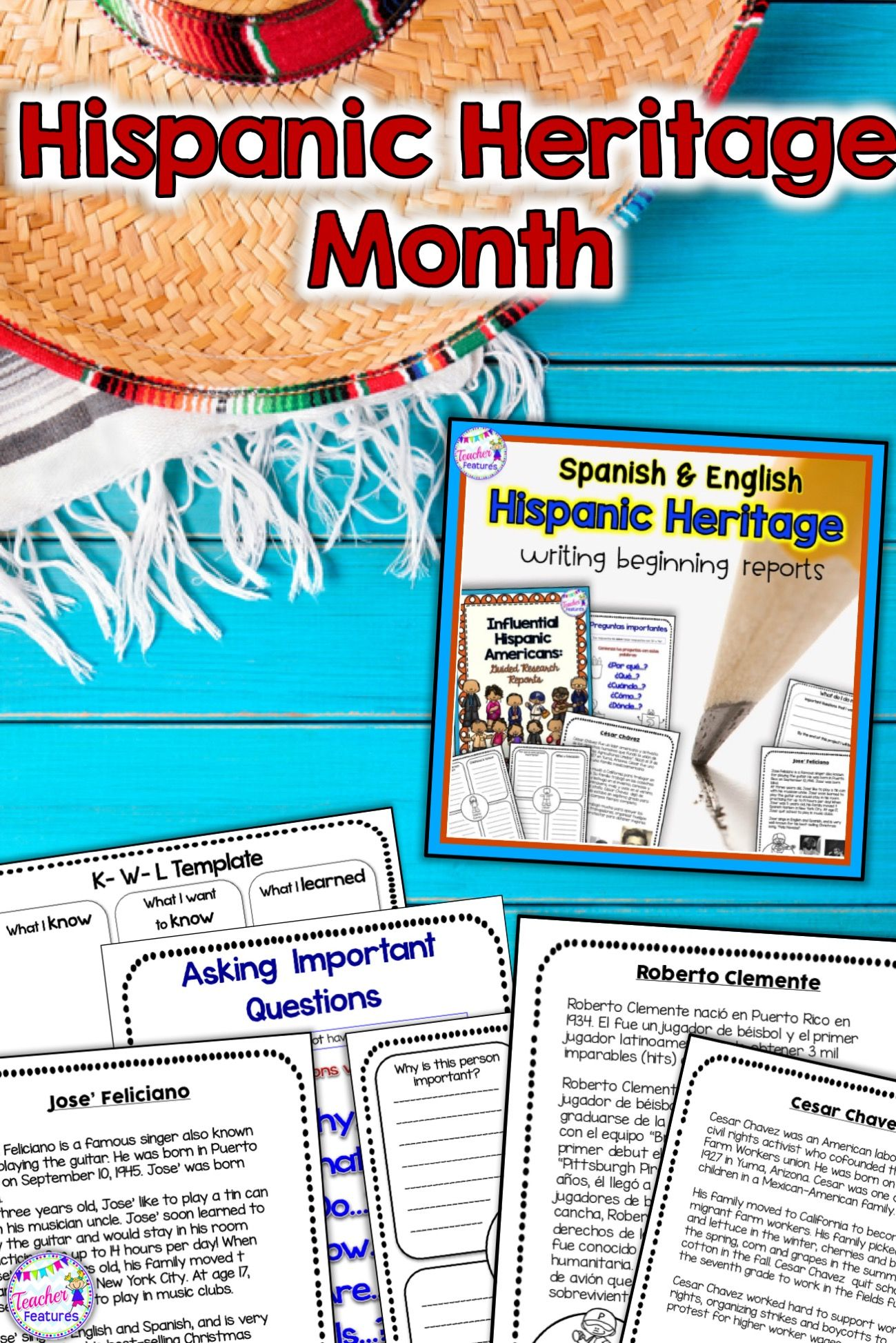 Hispanic Heritage Month | Hispanic Hertage Month Activities ...