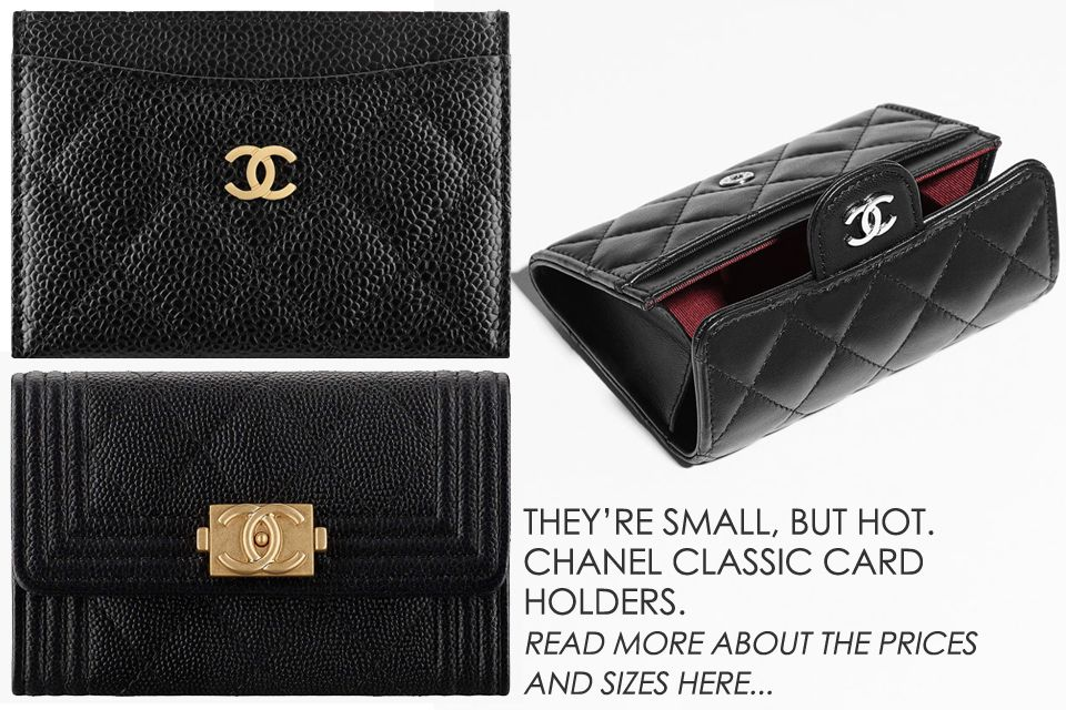 d68f7eaebb04 Chanel Classic Card Holders are small but gorgeous