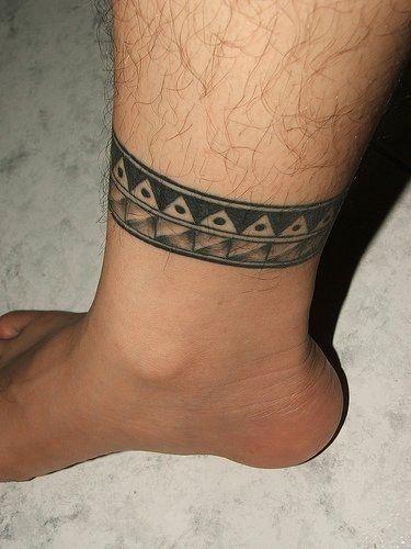 Tatuajes En Uno O Varios Tobillos Leg Tattoos Ankle Tattoo Designs Leg Band Tattoos