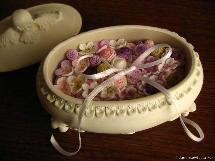 Decorando y artículos de decoración de flores del ganchillo (14) (700x525, 226KB)