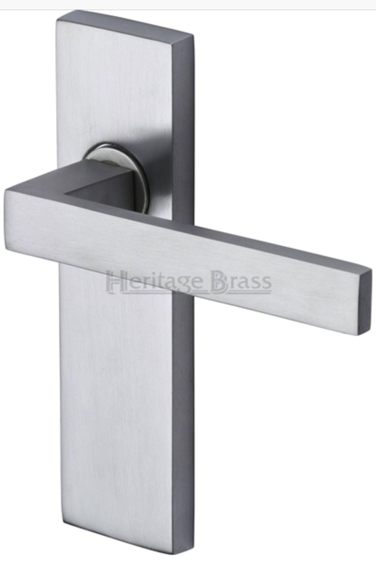 Pin On Door Handles On Backplate