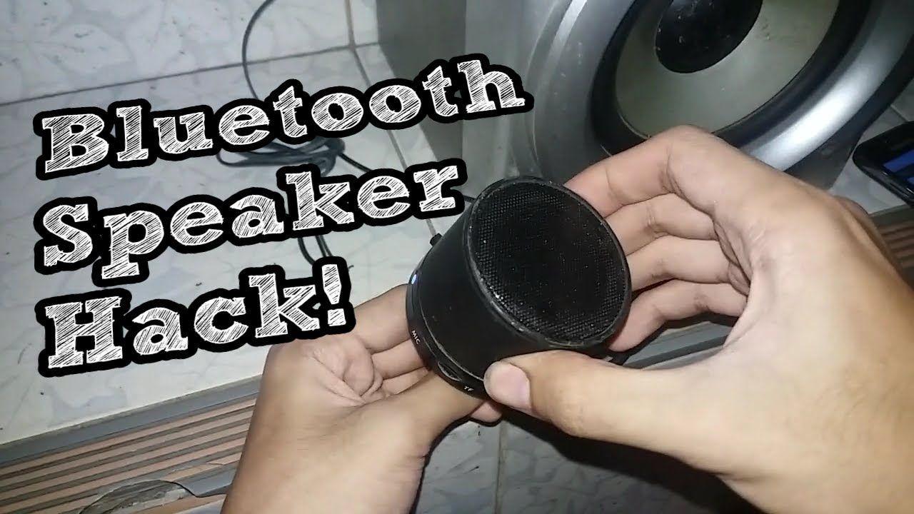 Hacking a Bluetooth Speaker  External Audio Jack  Bluetooth