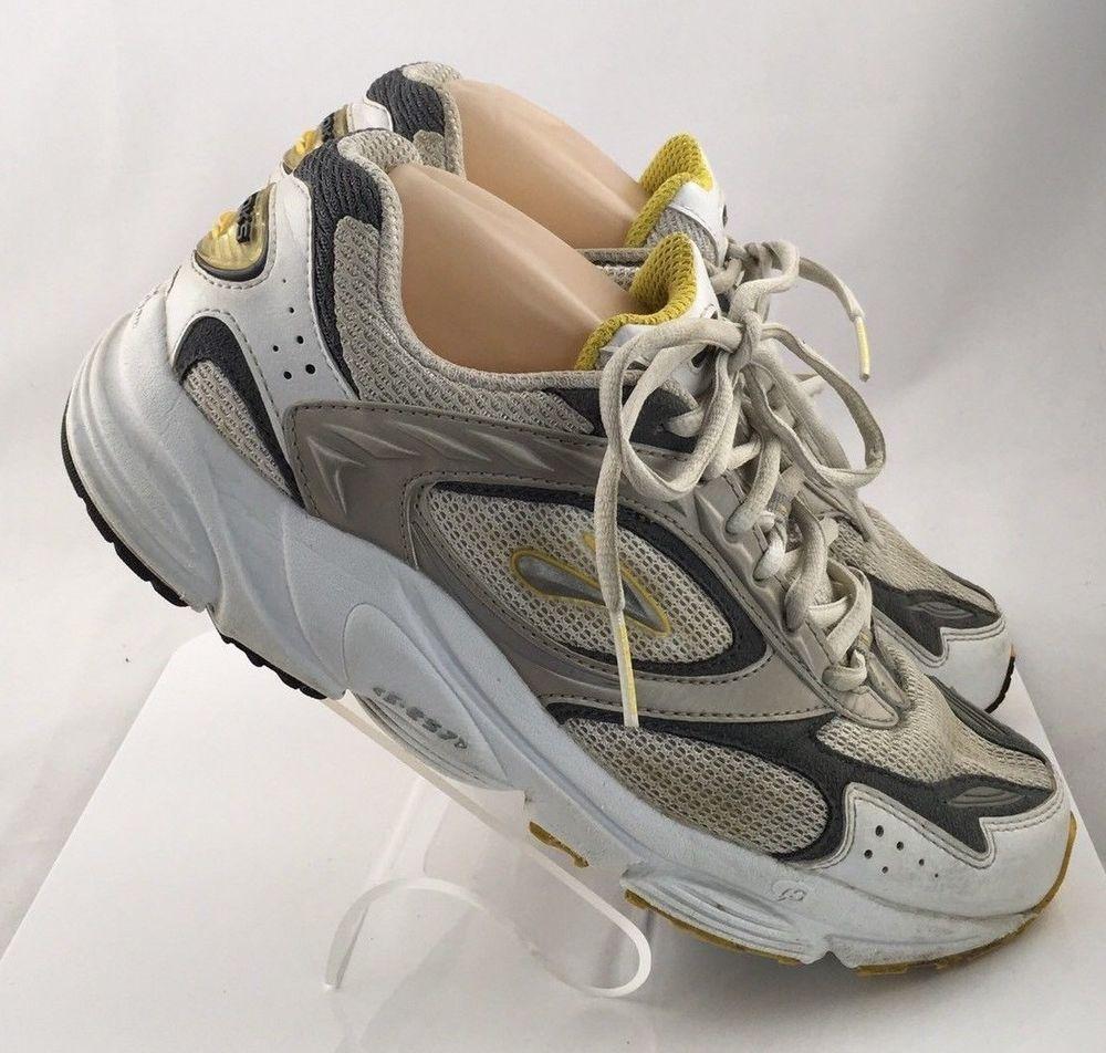 9a6c94c2e4c81 Brooks S 257 athletic shoes womens size 10 white   gray gym walk cross  trainers  Brooks  RunningCrossTraining