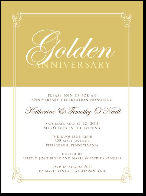 Invitations To Paretns 50th Invitaciones 25 Aniversario