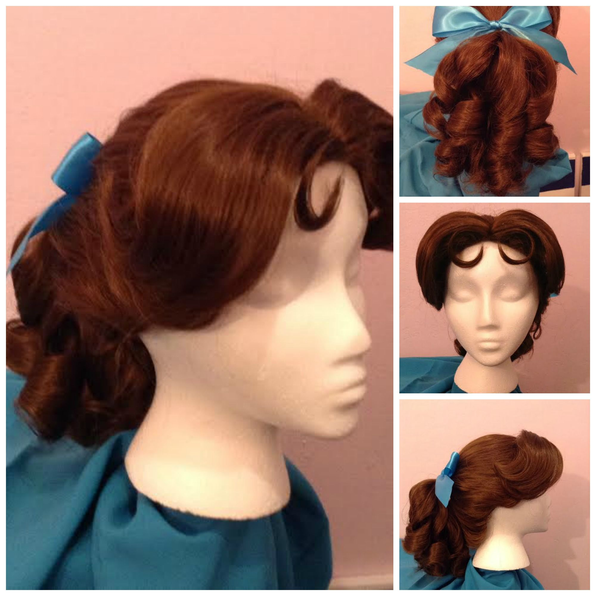 Wendy Darling Inspired Wig From Disney S Peter Pan Www Etsy Thecharmingviolet
