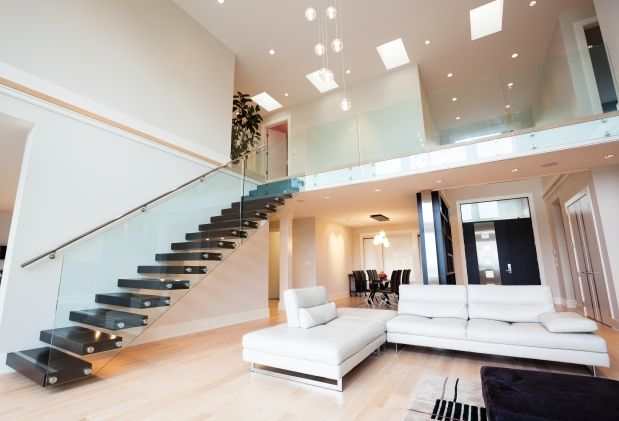 Breathtaking Inside Staircase In Houses Contemporary - Best idea ...